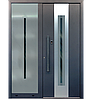 Входные уличные двери для дома Ryterna RD80 (Литва) - Дизайн 206, фото 6