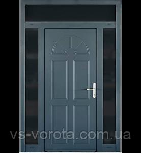 Входные уличные двери для дома Ryterna RD80 (Литва) - Дизайн 301