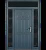 Входные уличные двери для дома Ryterna RD80 (Литва) - Дизайн 302, фото 6