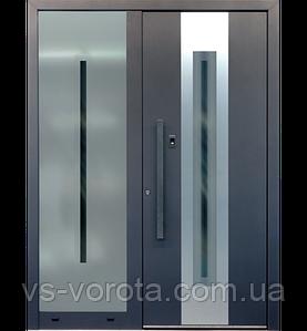 Входные уличные двери для дома Ryterna RD80 (Литва) - Дизайн 303