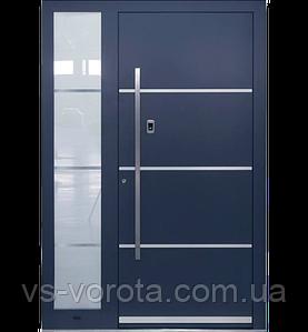 Входные уличные двери для дома Ryterna RD80 (Литва) - Дизайн 306