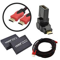 HDMI: кабеля, переходники, конвертеры, свичи