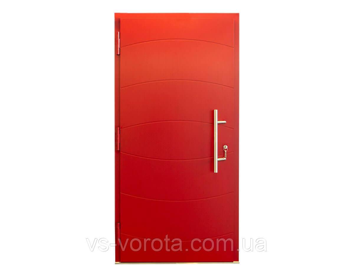 Входные уличные двери для дома Ryterna RD80 (Литва) - Дизайн 241