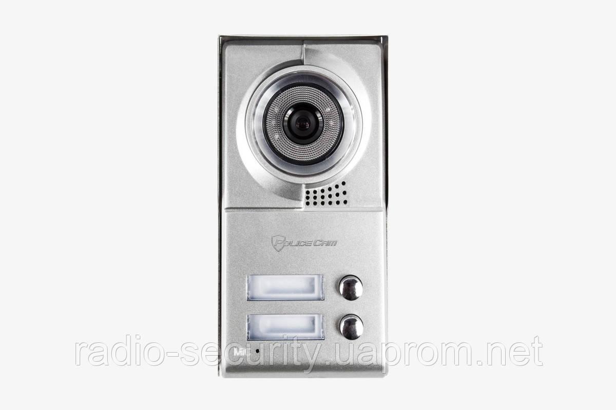 Видеопанель PoliceCam PC-209-2 на два абонента