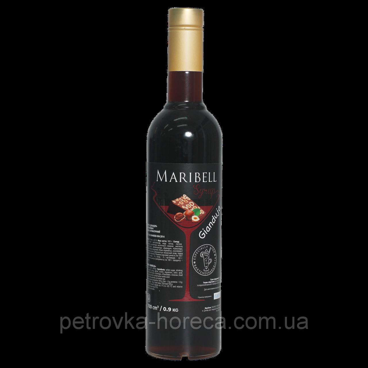 """Сироп коктейльный Maribell """"Джандуя"""" 700мл"""