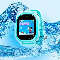 Детские часы Q 400 (DS05) с GPS трекером водонепроницаемые, ОРИГИНАЛ! , фото 1