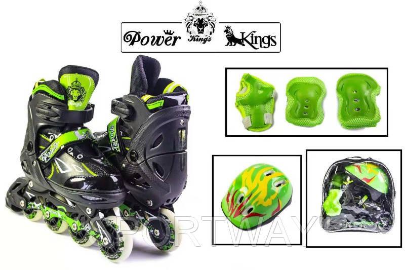 Комплект Power Kings. Green. р 29-33,34-37,38-41