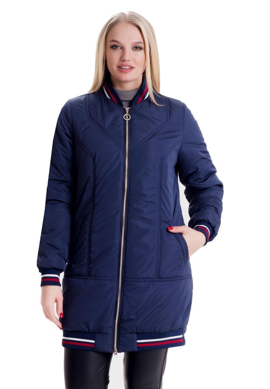 63e801c89de Удлиненная женская демисезонная куртка  продажа