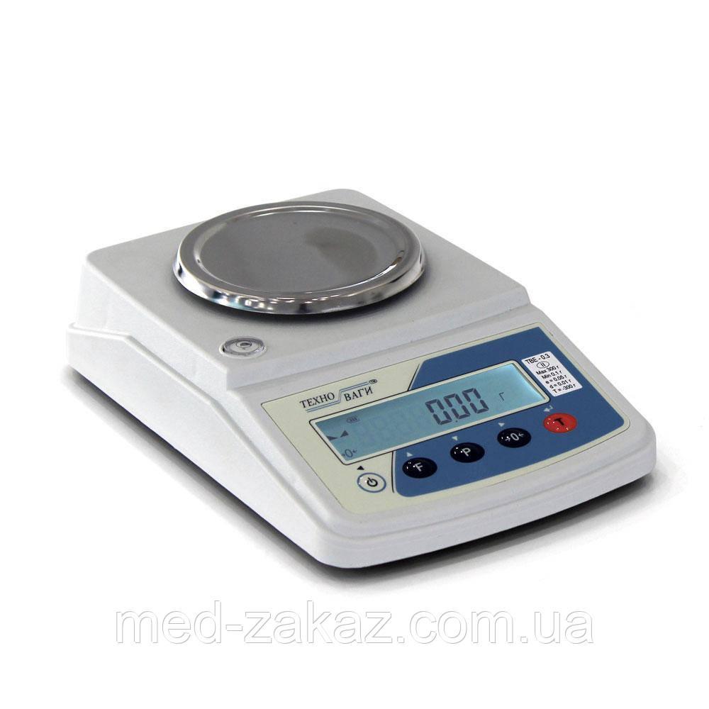Весы электронные лабораторные ТВЕ —2,1-0,01