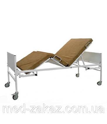 Кровать медицинская функциональная КФ-3M с матрасом и поручнями