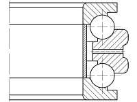 Подшипник  2-178815 Л2 (234415 M/SP)