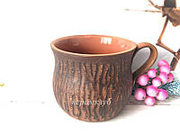 Чашка из красной глины, фото 1