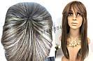 💎 Парик из натуральных волос без имитации кожи 💎, фото 5