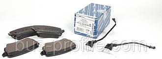 Колодки тормозные зад. VW T5 03- Lucas (с датчиками)— MEYLE (Германия) — 0252332617/W