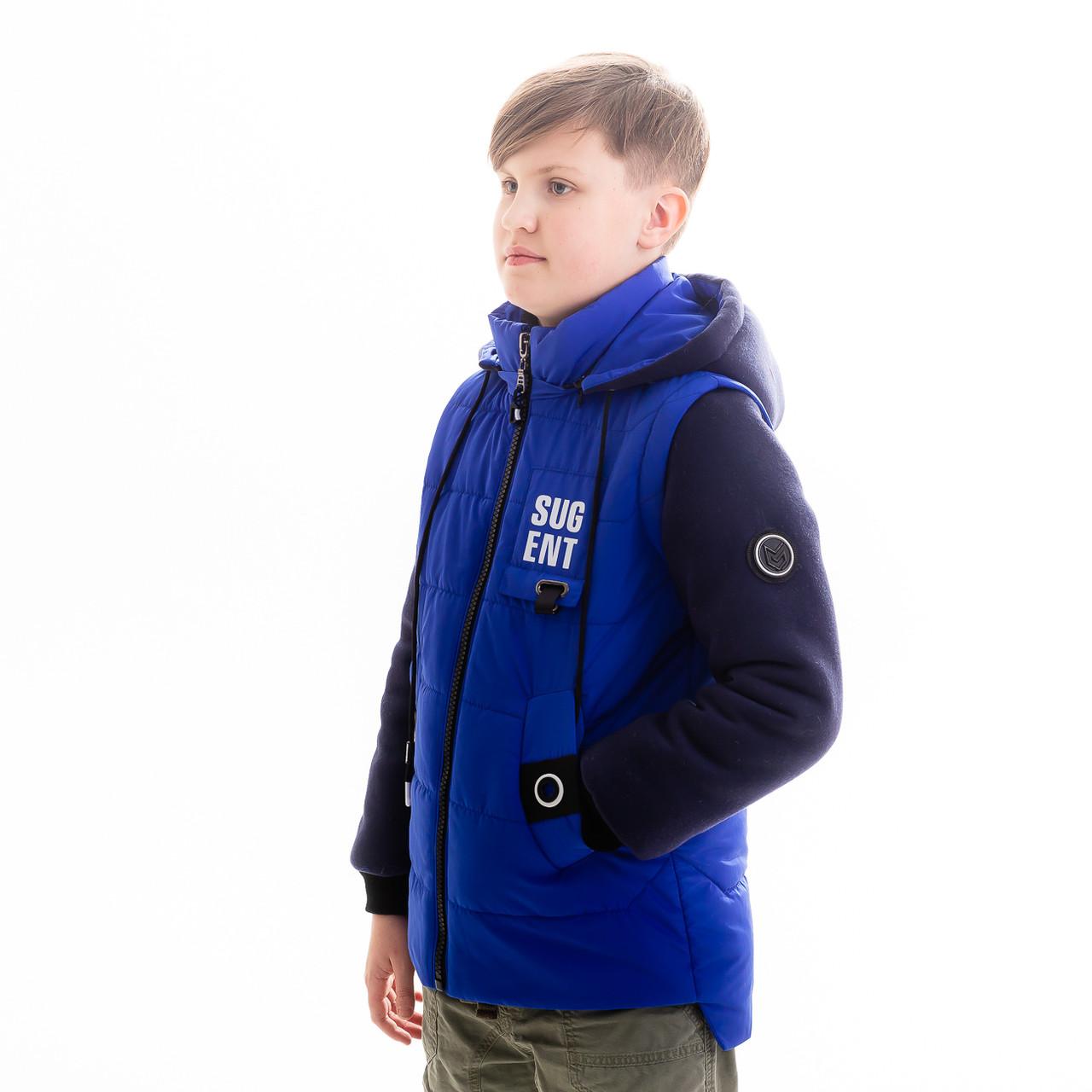 Куртка-жилет для мальчика «Бонд», фото 1