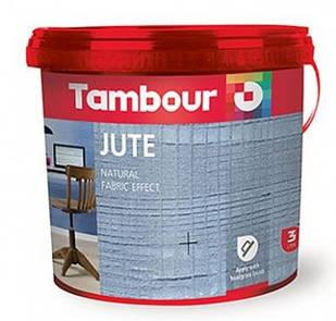 Декоративная краска TAMBOUR Jute (c эффектом ткани)