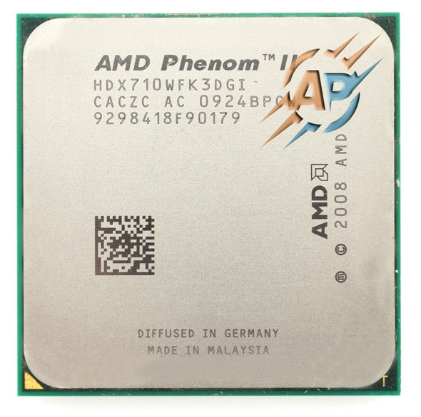 Процессор AMD Phenom II X3 710 2.6GHz 2000MHz (HDX710WFK3DGI) Socket AM2+/AM3 95W
