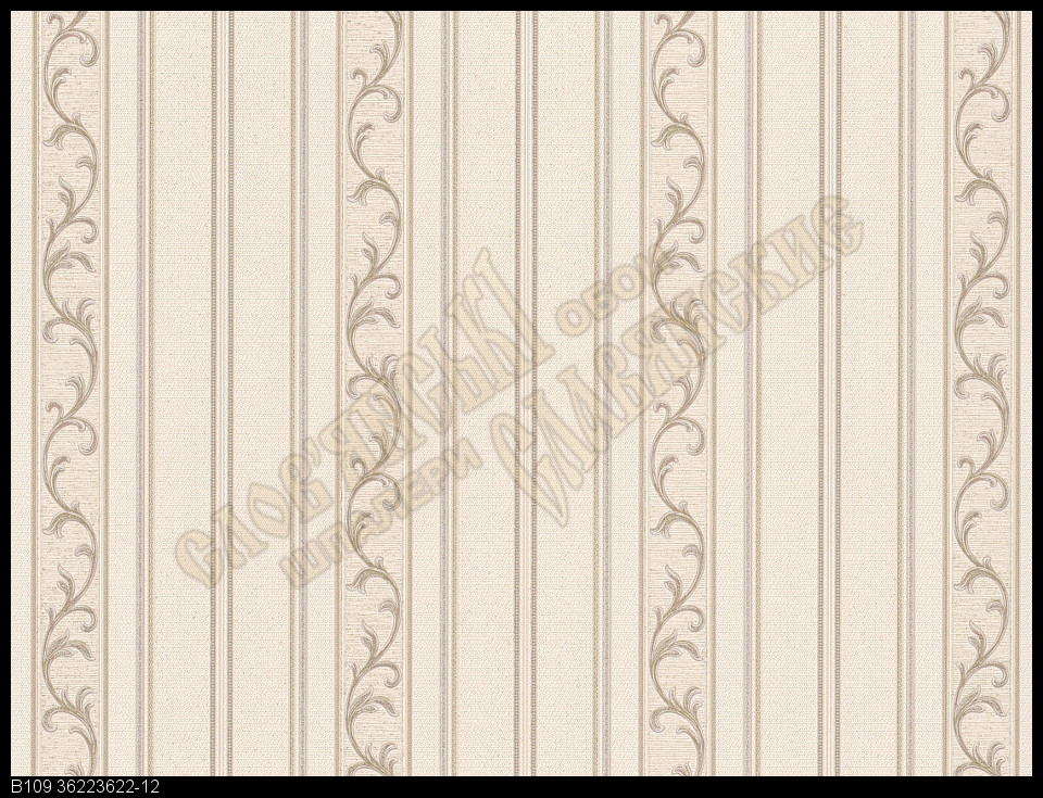 Обои Славянские Обои КФТБ виниловые на флизелиновой основе 10м*1,06 9В109 Графиня 2 3622-12