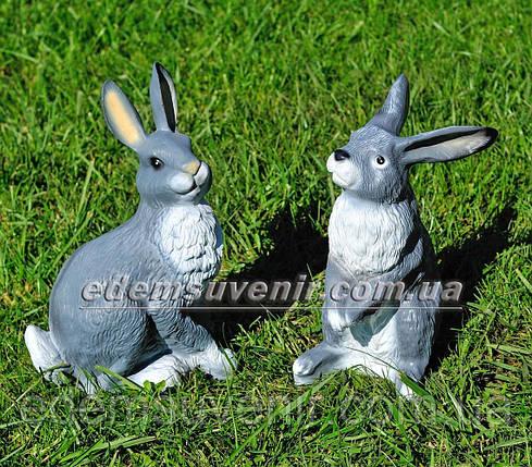 Садовая фигура Заяц и Зайчиха, фото 2