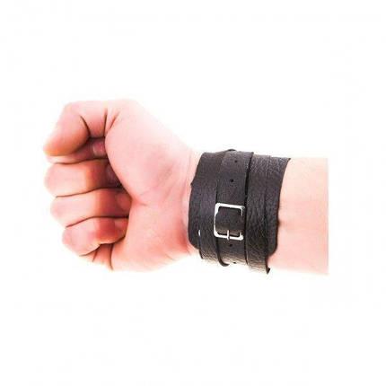 Фиксатор кистевой кожаный (напульсник), размер  универсальный, фото 2