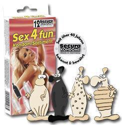 Презервативи SEX4BOX 12 шт
