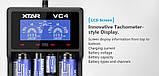 Профессиональное зарядное устройство XTAR VC4, фото 4