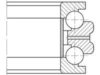 Подшипник  2-178818 Л1 (234418 M/SP)