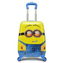 Детский чемодан на колёсах Minion (Миньон)