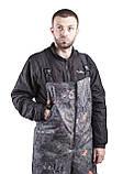 Зимний костюм для охоты и рыбалки Шишка зелёная, непродуваемый, тёплый и надежный, все размеры 56-58, фото 3