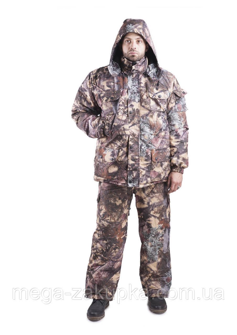 Зимний костюм для охоты и рыбалки Туя, непродуваемый, тёплый и надежный, все размеры 48-50
