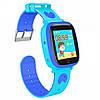 Smart Baby Watch Q11, детские умные часы с трекером и телефоном Голубые