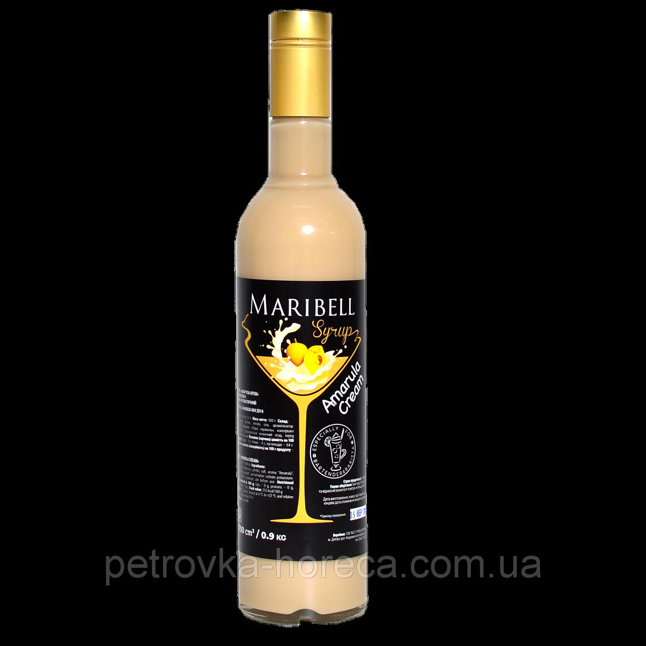"""Сироп коктейльный Maribell """"Амарула Крем"""" 700мл"""