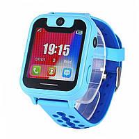 Лучшие детские умные часы Smart Kids X (S6) с камерой и фонариком  Голубые, фото 1