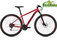 """Велосипед Ghost 27.5"""" Kato 2.7 2019 рамаL червоний red/night black 86KA2005"""