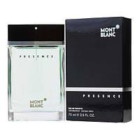 Мужские духи , парфюм реплика - Montblanc Presence (75 ml)