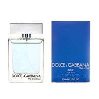 Мужские духи , парфюм реплика - D&G The One Blue for Men Eau de Toilette (100 ml)