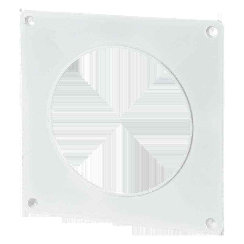 Пластина настенная для круглых каналов d150