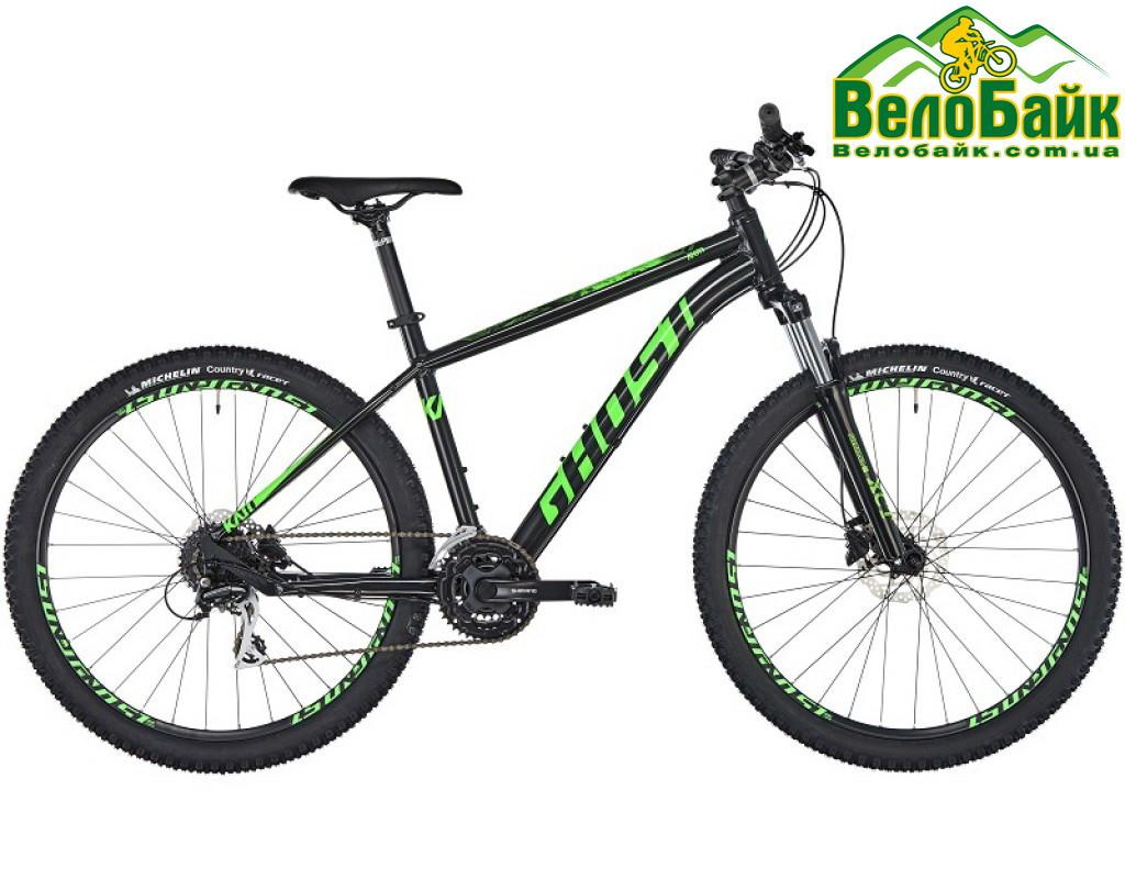 """Велосипед Ghost 27.5"""" Kato 2.7 2019 рамаM night black/riot green"""
