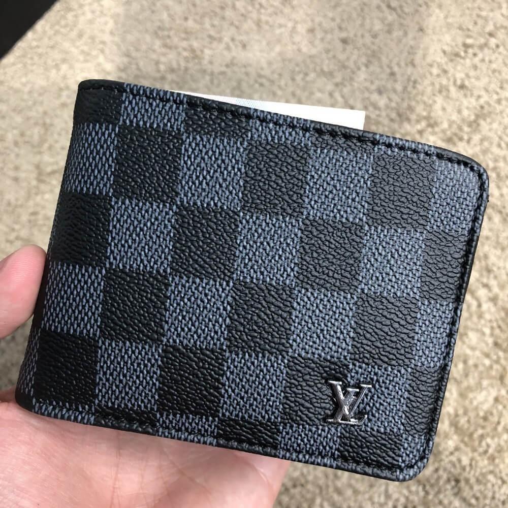 50a881c6bba1 Кошелек мужской Wallet Louis Vuitton Florin Damier Graphite (реплика ...