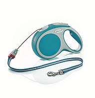 Flexi VARIO S 8м/12кг, трос - поводок-рулетка для собак