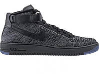 Кроссовки мужские Nike Air Lunar Force FlyKnit Black (Реплика ААА класса)