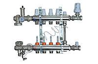 Коллектор для теплого пола Icma A2K0113 на 6 контуров