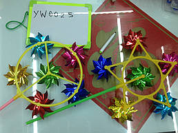 Ветрячок по 25шт. 6 цв голограмма /20/500/