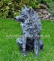 Садовая фигура Волк и Коза, фото 2