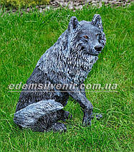 Садовая фигура Волк и Коза, фото 3