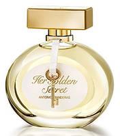 Женские реплика духи Antonio Banderas Her Golden Secret edt 80 ml