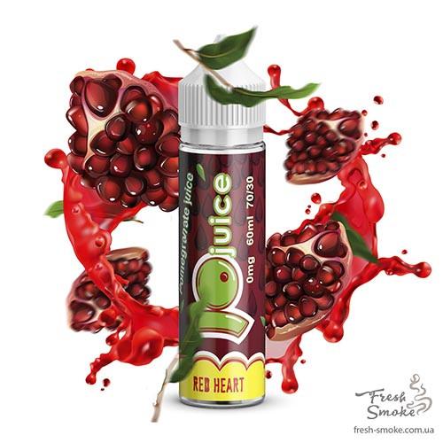 Жидкость для Электронных Сигарет Jo Juice Red heart 3 мг