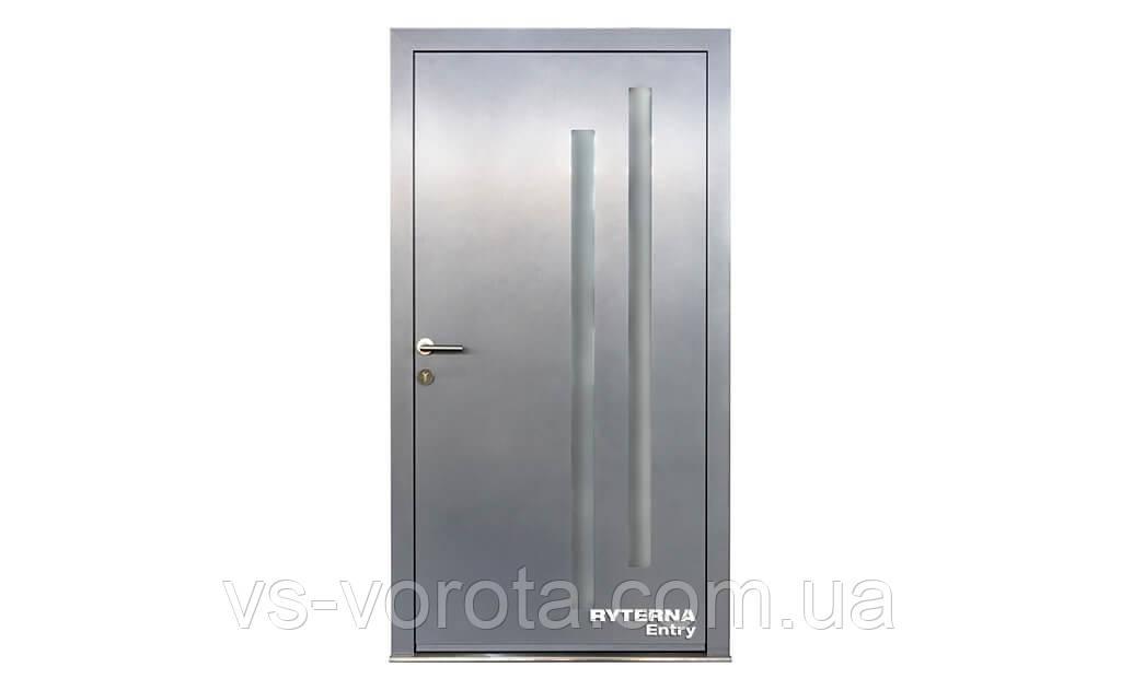 Входные уличные двери для дома Ryterna RD80 (Литва) - Дизайн 277