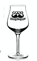 Бокал для пива с логотипом, нанесение логотипа компании