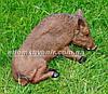 Садовая фигура Кабан лежачий и Кабан лежачий средний, фото 6
